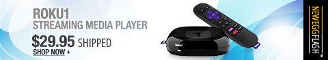 Newegg Flash - Roku 1 Streaming Media Player.
