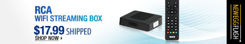 Newegg Flash - RCA WiFi Streaming Box.