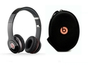 Refurbished: Beats Solo HD By Dr. Dre Beats Solo HD On-Ear Genuine Headphones with Carrying Case (Black)
