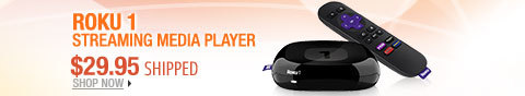 Newegg Flash - Roku 1 Streaming Media Player.