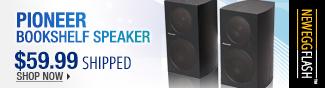 Pioneer Bookshelf Speaker