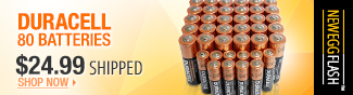 Duracell 80 Batteries
