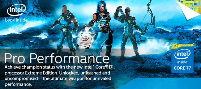 Intel - Pro Performance - Achieve champion status with the new Intel® Core™ i7 processor Extreme Edition. Unlocked, unleashed and uncompromised—the ultimate weapon for unrivaled performance.