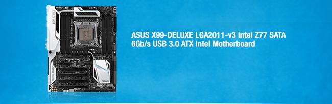 GIGABYTE GA-X99-UD5 WIFI Intel X99 SATA 6Gb/s USB 3.0 ATX Intel Motherboard