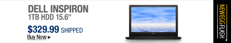 """Newegg Flash � DELL Inspiron 1TB HDD 15.6"""""""