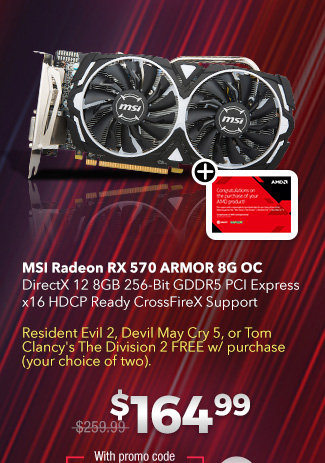 Save Up to $95 on Select AMD Radeon Video Cards Plus…