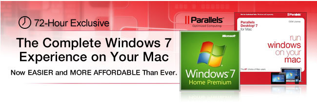 The Complete Windows 7 Experience on Your Mac  Now EASIER and MORE AFFORDABLE Than Ever.