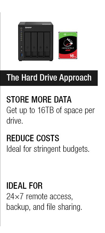 The Hard Drive Approach