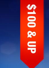 $100 & UP