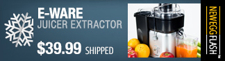 e-ware juicer extractor - newegg flash.