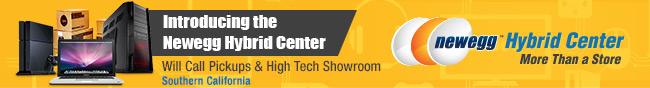 Hybrid Center - Introducing the newegg hybrid center.