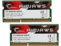 G.SKILL Ripjaws Series 8GB (2 x 4GB) 204-Pin DDR3 SO-DIMM DDR3 1600 (PC3 12800) Laptop Memory