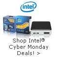 Intel - shop intel cyber monday deals!