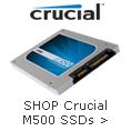 Shop Crucial M500 SSDs.