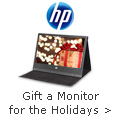 HP - Gift A Monitor For The Holidays.