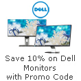 Save 10% On Dell Monitors With Promo Code.
