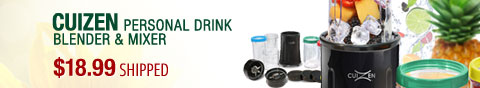 Newegg Flash - Cuizen Personal Drink Blender & Mixer.