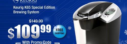 Keurig K65 Special Edition Brewing System