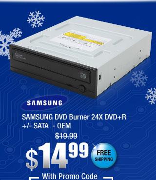 SAMSUNG DVD Burner 24X DVD+R +/- SATA - OEM
