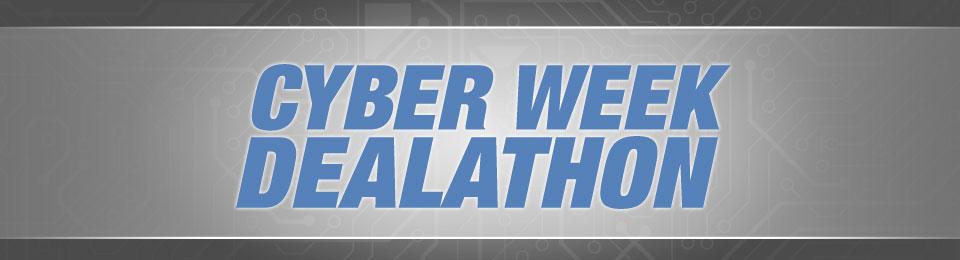 CYBER WEEK DEALATHON