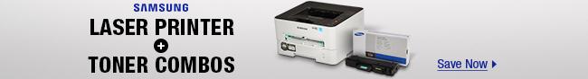 Samsung Laser Printer + Toner Combos