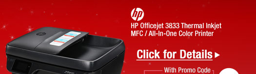 HP Officejet 3833 Up to 8.5 ppm (ISO)