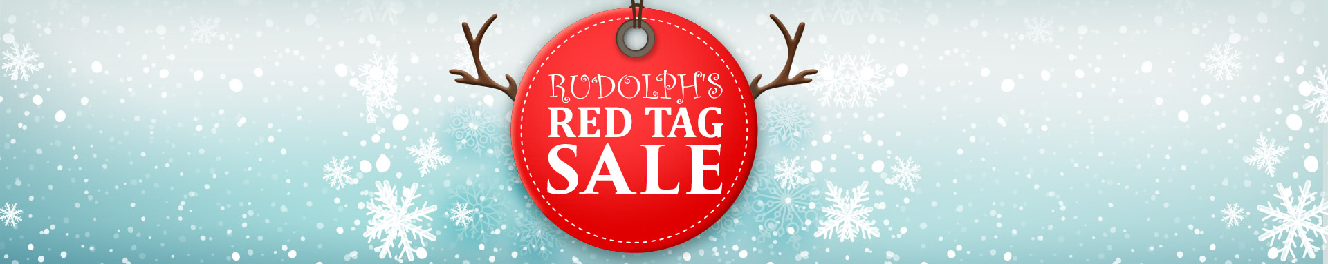 Rudolph's Red Tag Sale