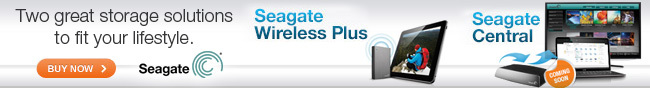 Seagate - Two great storage solutions to fit your lifestyle