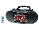 "Naxa NDL-254 7"" TFT LCD Display Portable DVD Player with AM/FM Stereo Radio (Black)"