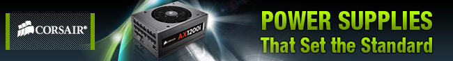 corsair - power supplies that set the standard.