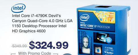 Intel Core i7-4790K Devil's Canyon Quad-Core 4.0 GHz LGA 1150 Desktop Processor Intel HD Graphics 4600