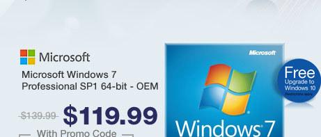 Microsoft Windows 7 Professional SP1 64-bit - OEM