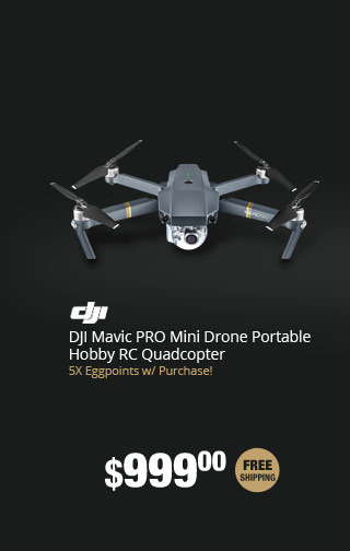 DJI Mavic PRO Mini Drone Portable Hobby RC Quadcopter