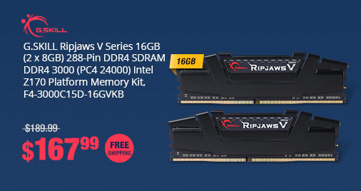 Newegg promo codes coupons discounts promotions and free shipping gill ripjaws v series 16gb 2 x 8gb 288 pin ddr4 fandeluxe Image collections