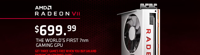Introducing the New AMD Radeon VII Graphics Card!