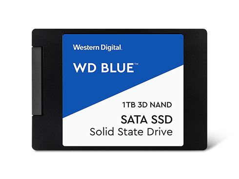 "WD Blue 3D NAND 2.5"" 1TB Internal Solid State Drive"