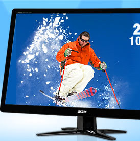 "Acer G236HLBbd Black 23"" 5ms Widescreen LED Monitor"