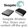 Seagate Wireless Plus. Enjoy your content off-the-grid.