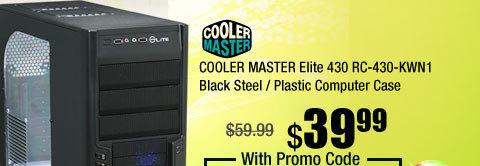 COOLER MASTER Elite 430 RC-430-KWN1 Black Steel / Plastic Computer Case