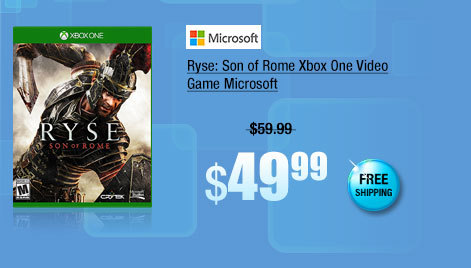 Ryse: Son of Rome Xbox One Video Game Microsoft