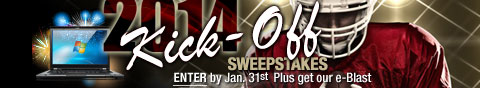 Newegg Flash - Kick-Off Sweepstakes.