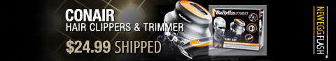 Newegg Flash - Conair Hair Clippers & Trimmer.