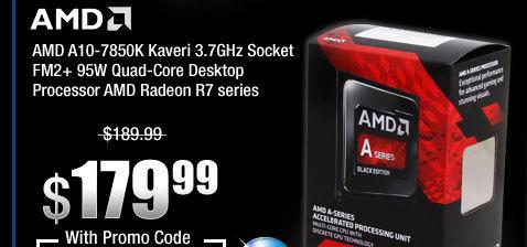 AMD A10-7850K Kaveri 3.7GHz Socket FM2+ 95W Quad-Core Desktop Processor AMD Radeon R7 series