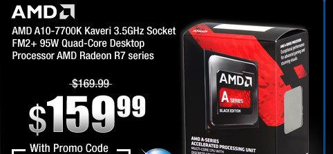 AMD A10-7700K Kaveri 3.5GHz Socket FM2+ 95W Quad-Core Desktop Processor AMD Radeon R7 series