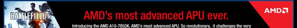 AMD's most advanced APU ever.