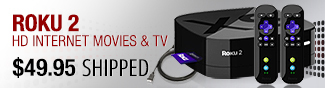 roku 2 hd internet movies and tv.