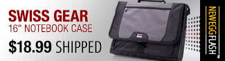 swiss gear 16 inch notebook case.