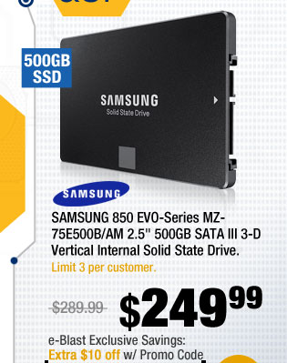 NewEgg offers 10% OFF on Select SSDs [].Only available while funds last. Promo code expires at PM on or sooner based on fund availability.