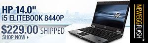 """Newegg Flash - HP 14.0"""" i5 ELITEBOOK 8440P"""