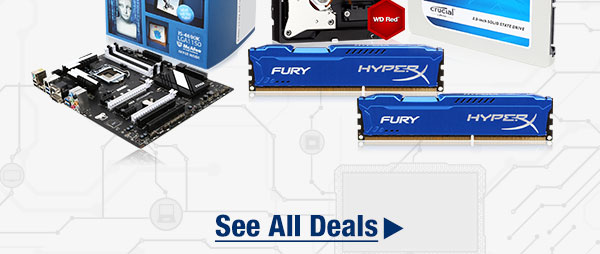 MENU: WD 3TB NAS Hard Drive HyperX 16GB Desktop Memory